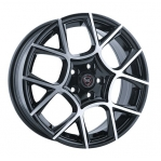 R16 4x100 6,5J ET52 D54,1 NZ Wheels F-26 BKF