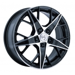 R16 4x100 6,5J ET52 D54,1 NZ Wheels F-29 BKF