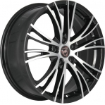 R16 4x100 6,5J ET52 D54,1 NZ Wheels F-53 BKF