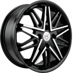 R16 4x100 6,5J ET52 D54,1 NZ Wheels SH 674 BKF