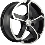 R16 4x100 6,5J ET52 D54,1 NZ Wheels SH 665 BKF